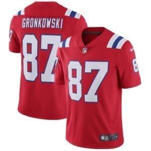 Rob Gronkowski on field jersey